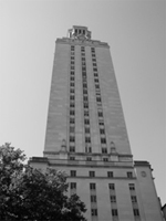 Tower on UT campus